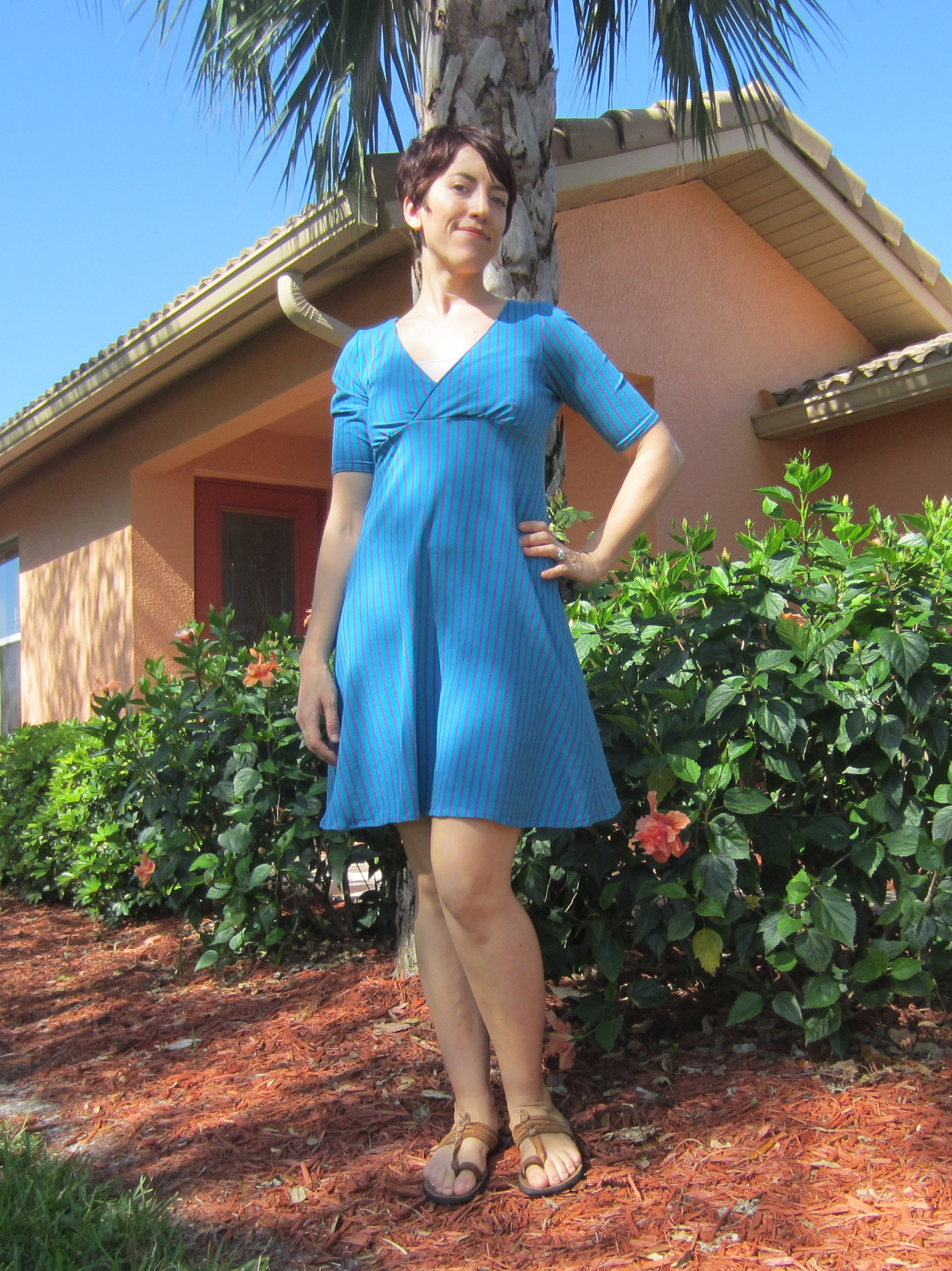 Empire Sleep dress- sew Pomona