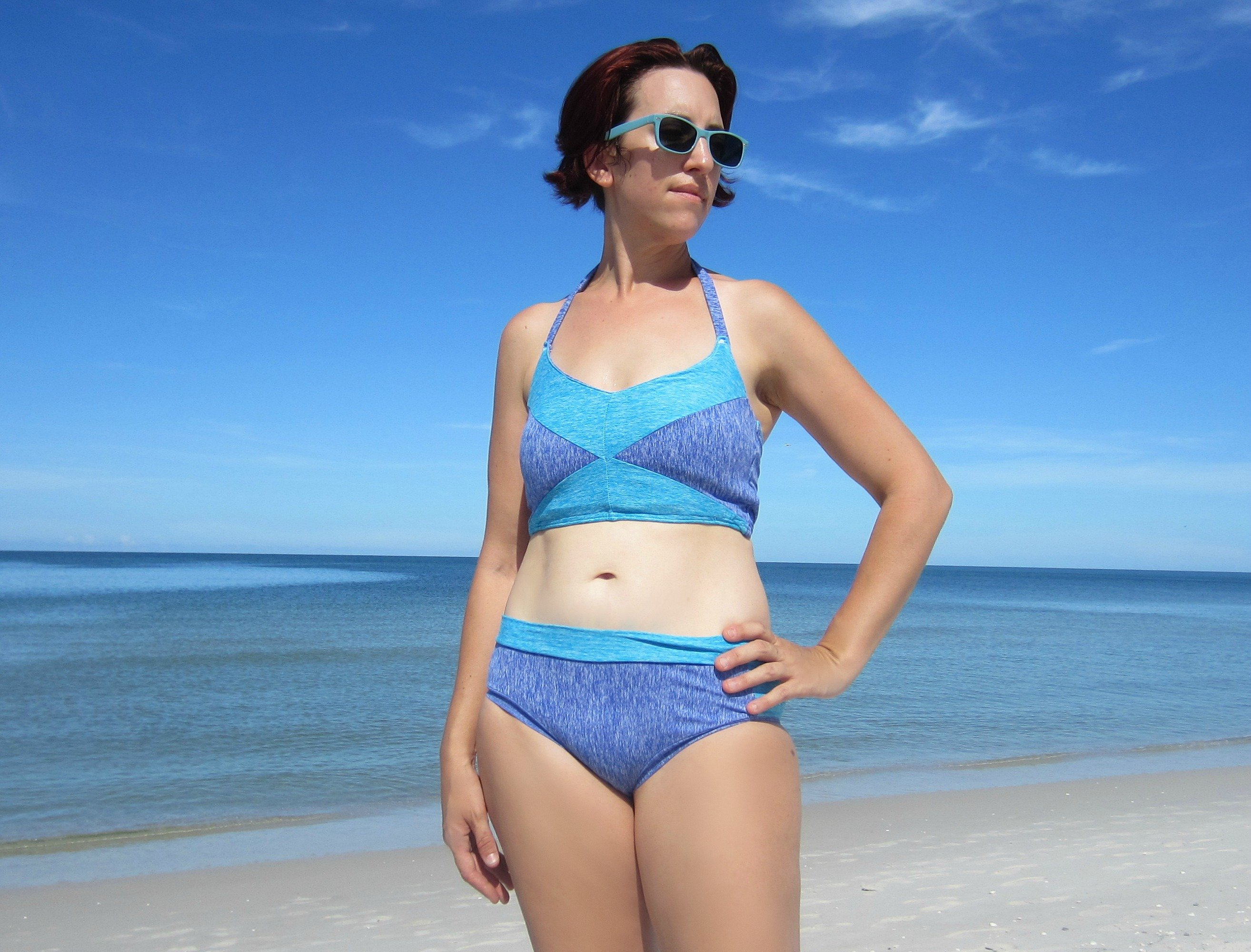 End of Summer Swimwear, Sew Pomona