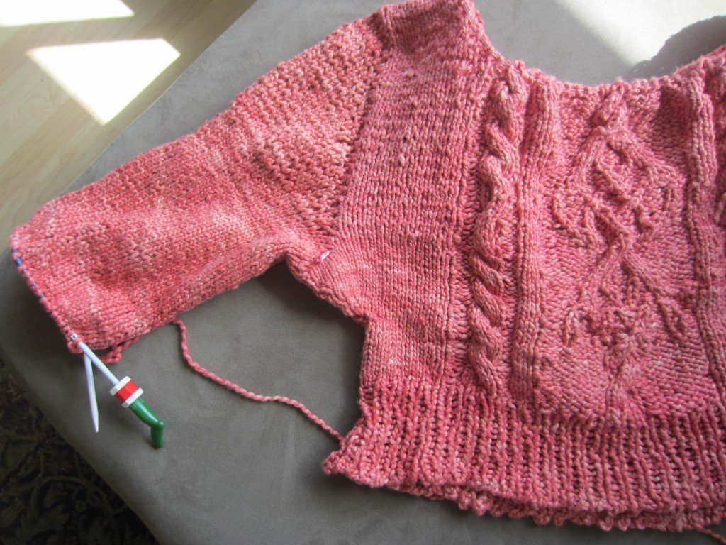 Week 4 #slowfashionoctober WORN, Progress on my Knitting, Sew Pomona