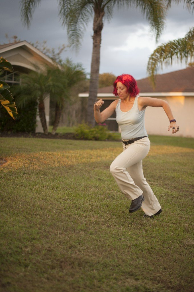 Run Lola Run! Halloween 2015 at Sew Pomona! Photos courtesy of Megan DiPiero Photography