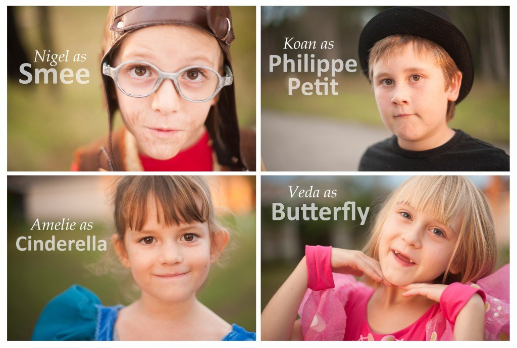 Halloween 2015 at Sew Pomona! Headshots kids-Megan Di Piero Photography