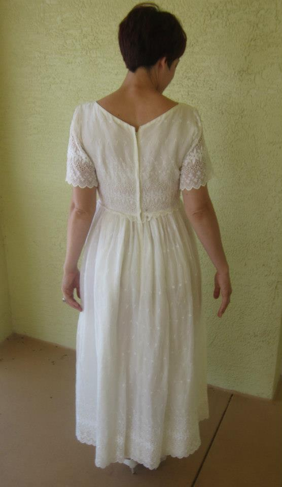 Laurel Refashion-Before. Lovely Laurel-Vintage Prom Dress Refashion