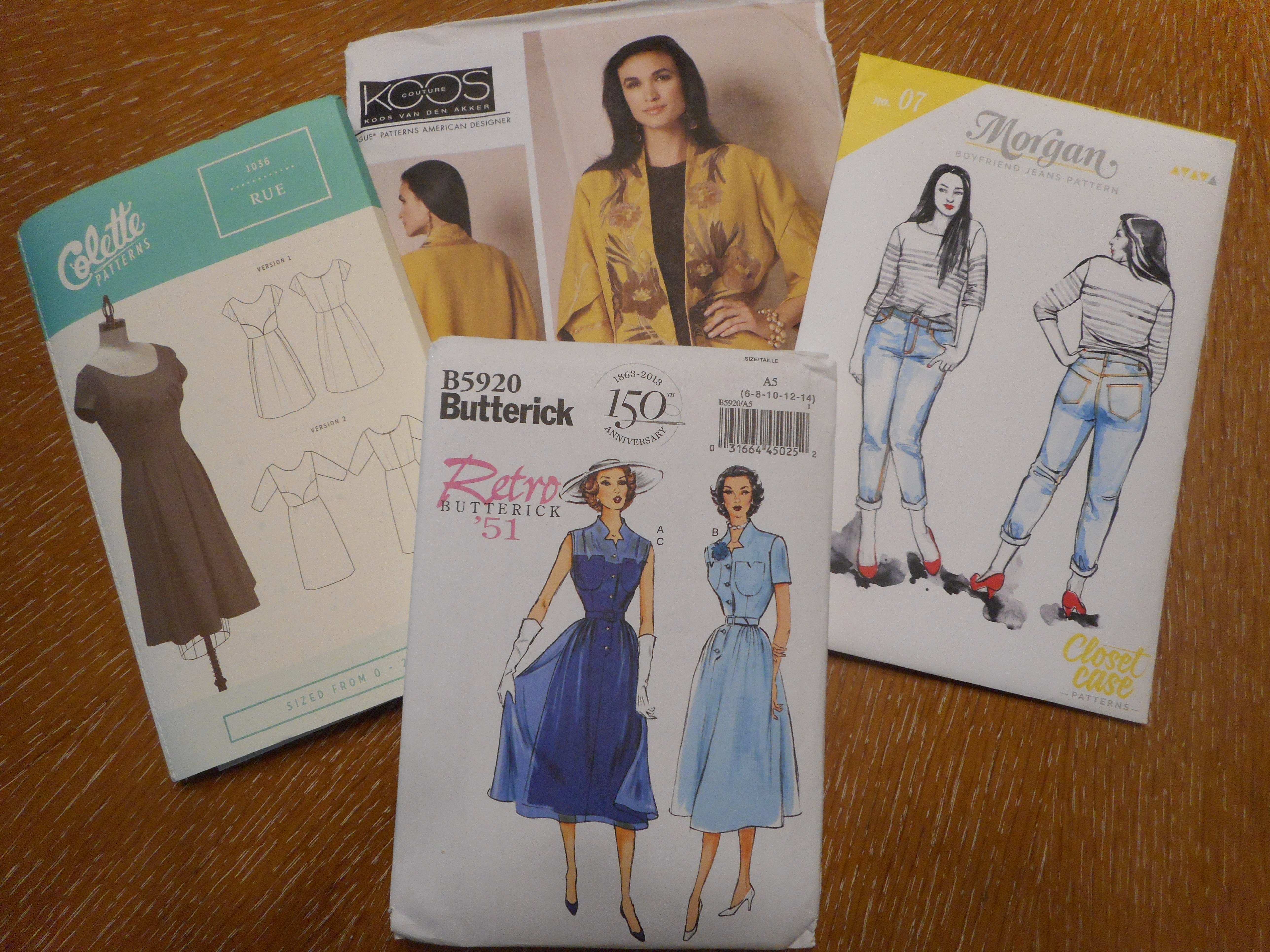 Fall 2016 Sewing Plans