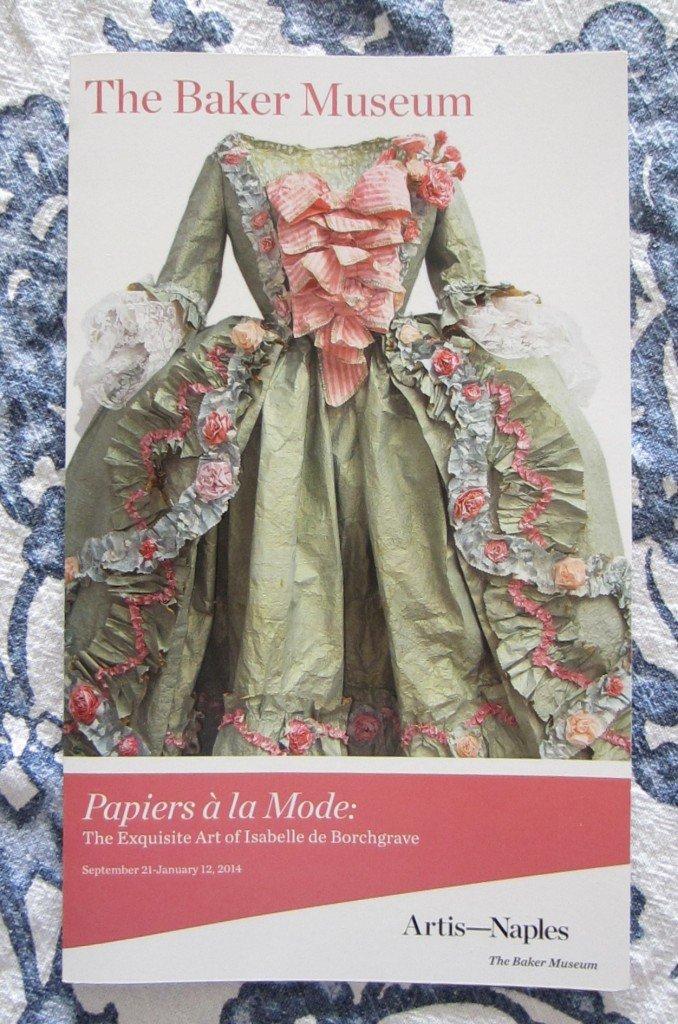 Papiers a la Mode Exhibit
