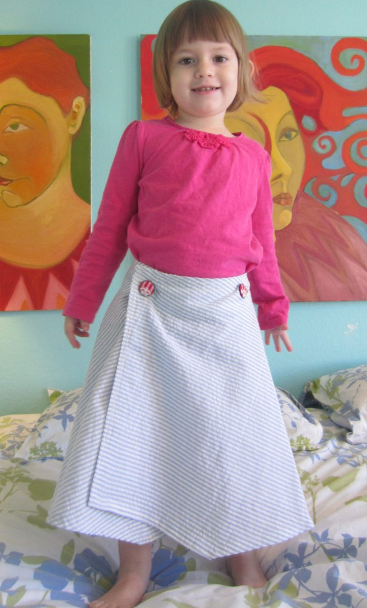 Little Girl's Wrap Skirt
