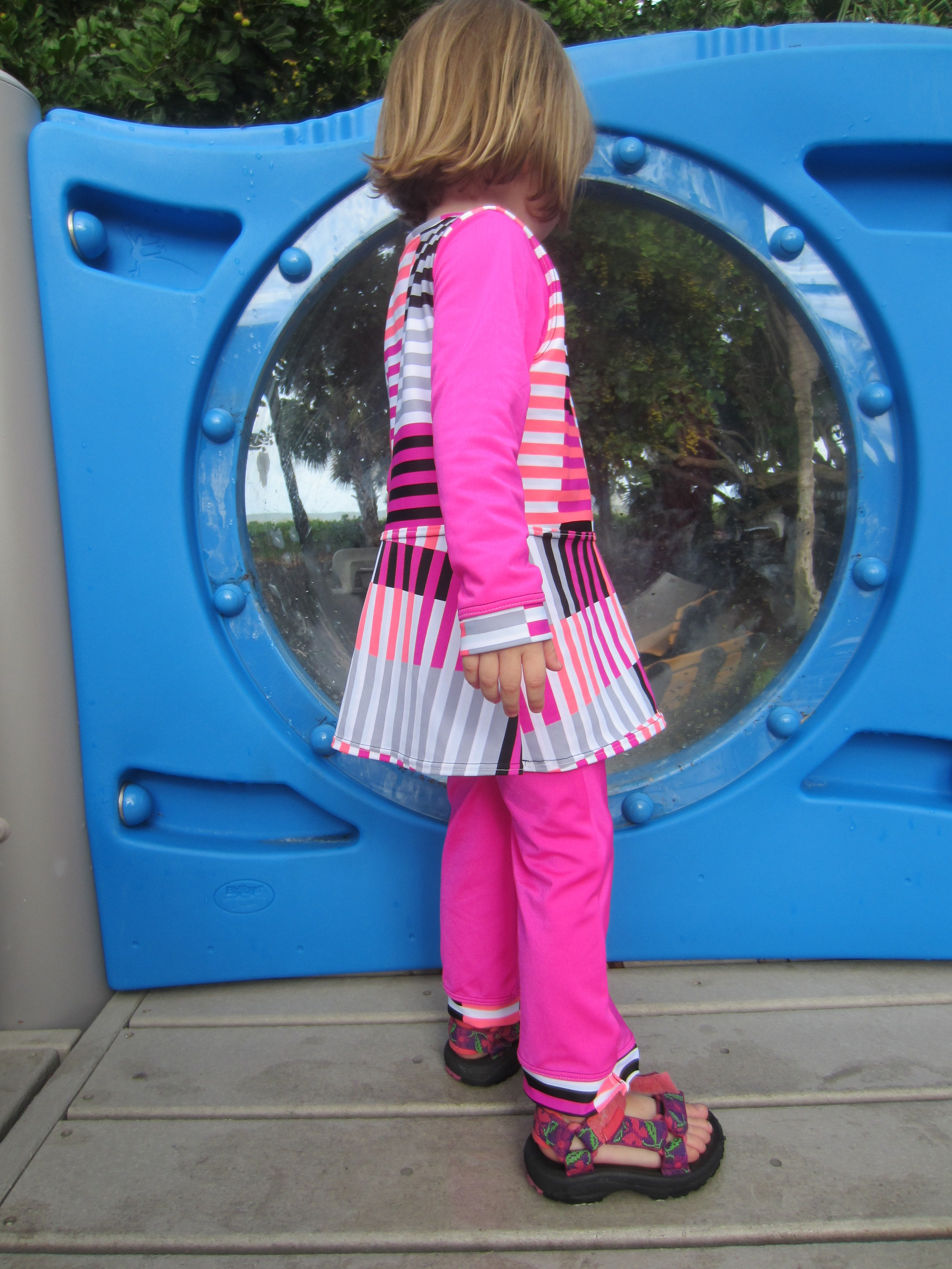 Swim Clothes for Ami- Sew Pomona