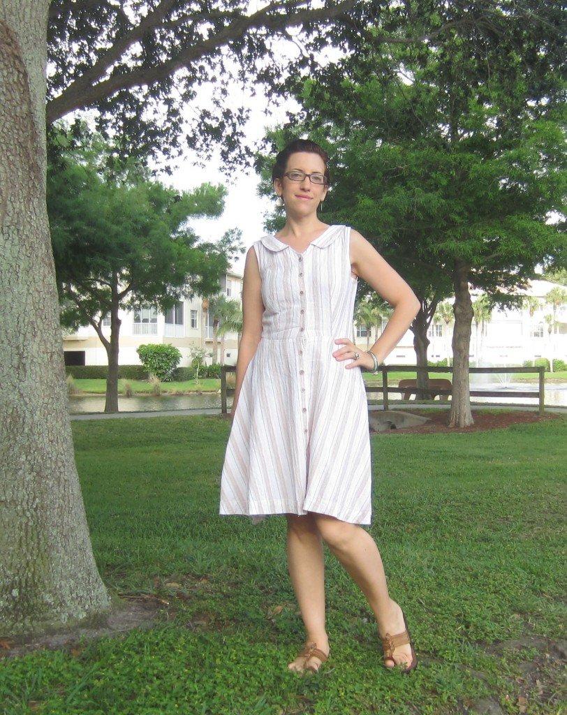 Colette Hawthorn Dress Sew Pomona