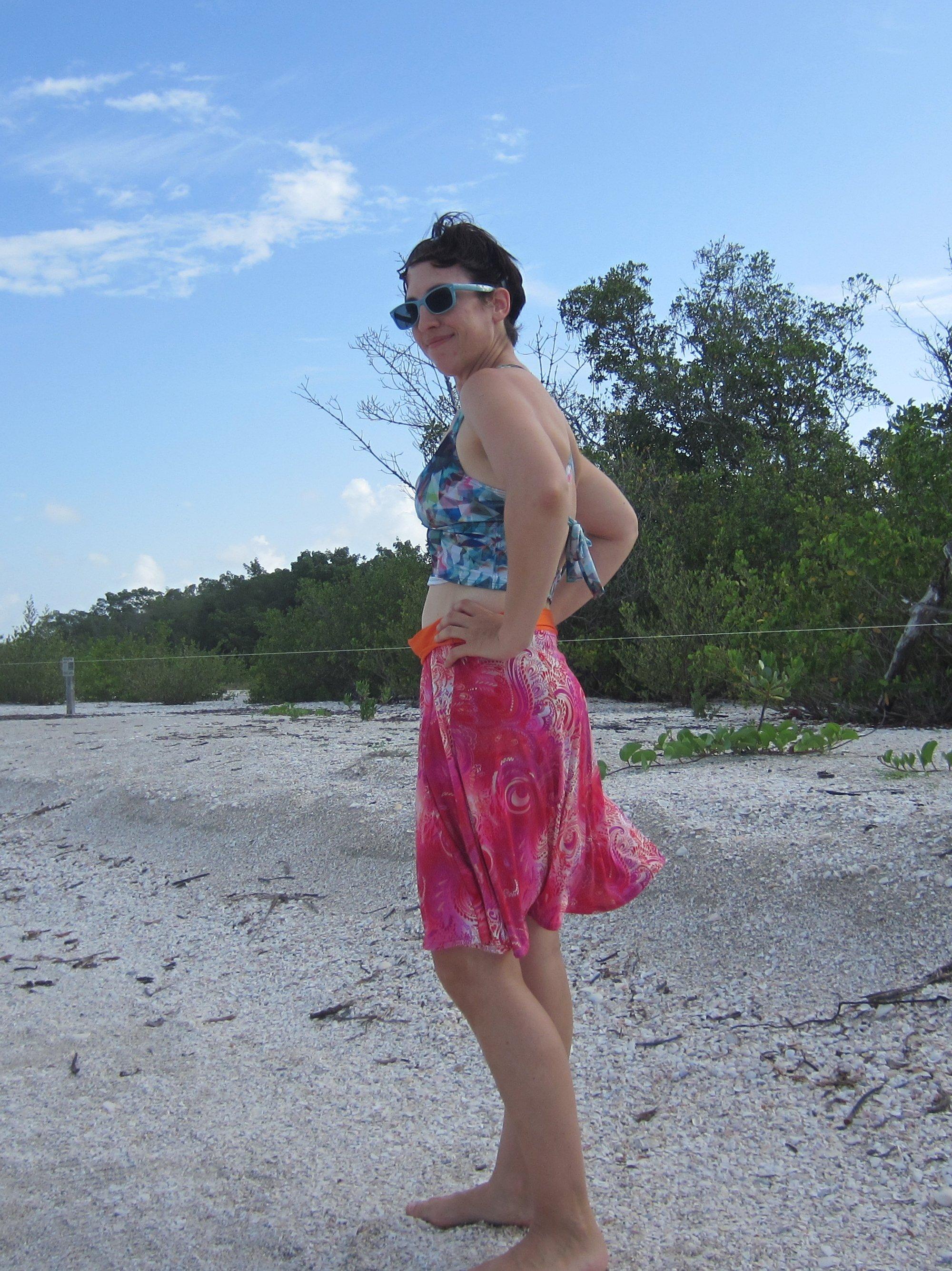 Beach Days, Sew Pomona