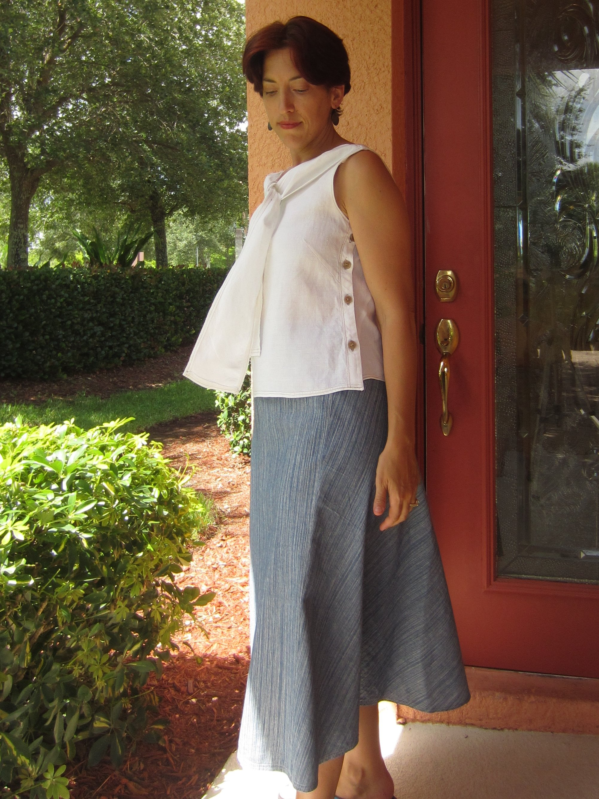 Chambray & Linen, Sew Pomona