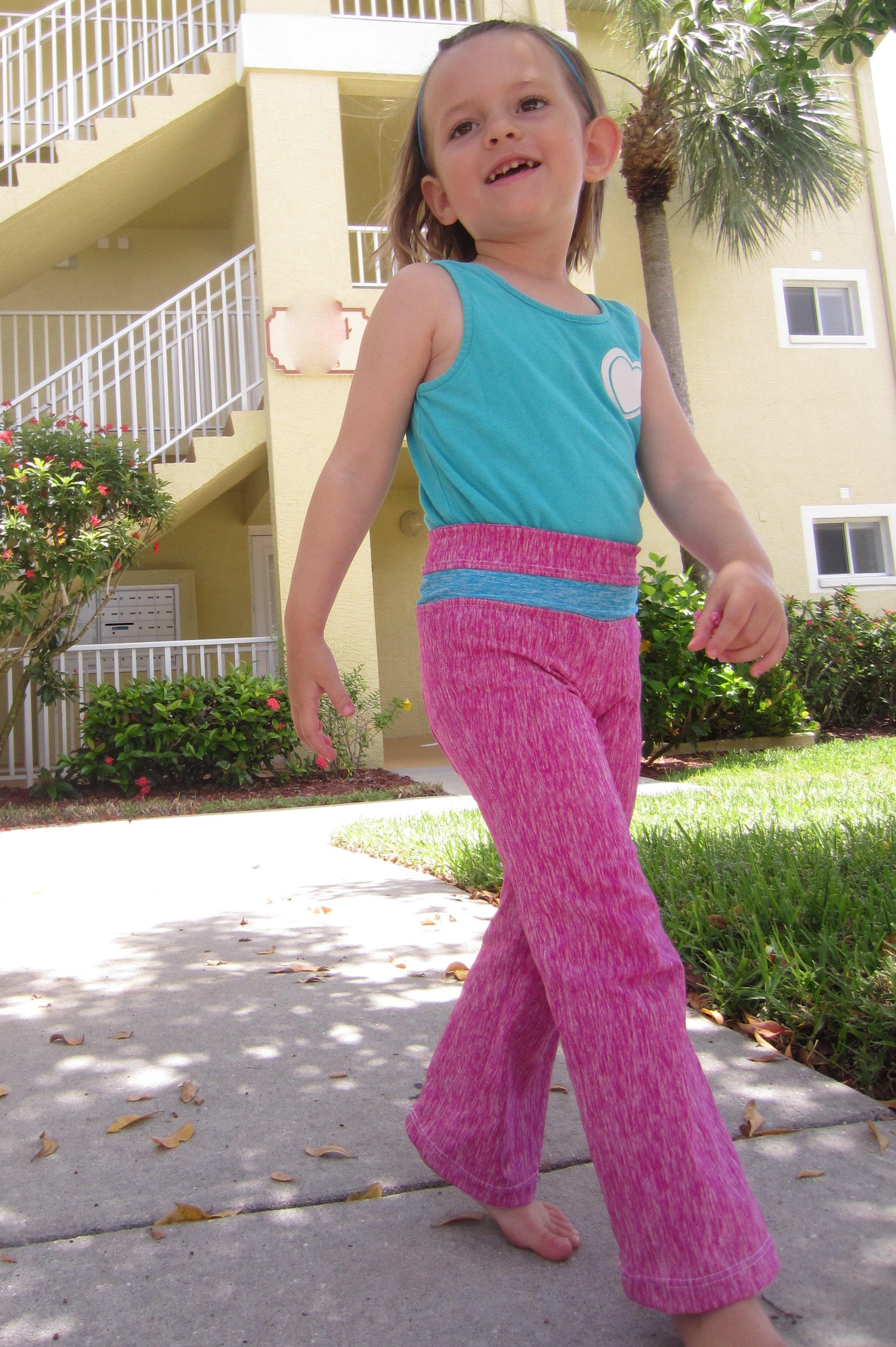 Jalie 3022 Yoga Pants for Ami- Sew Pomona