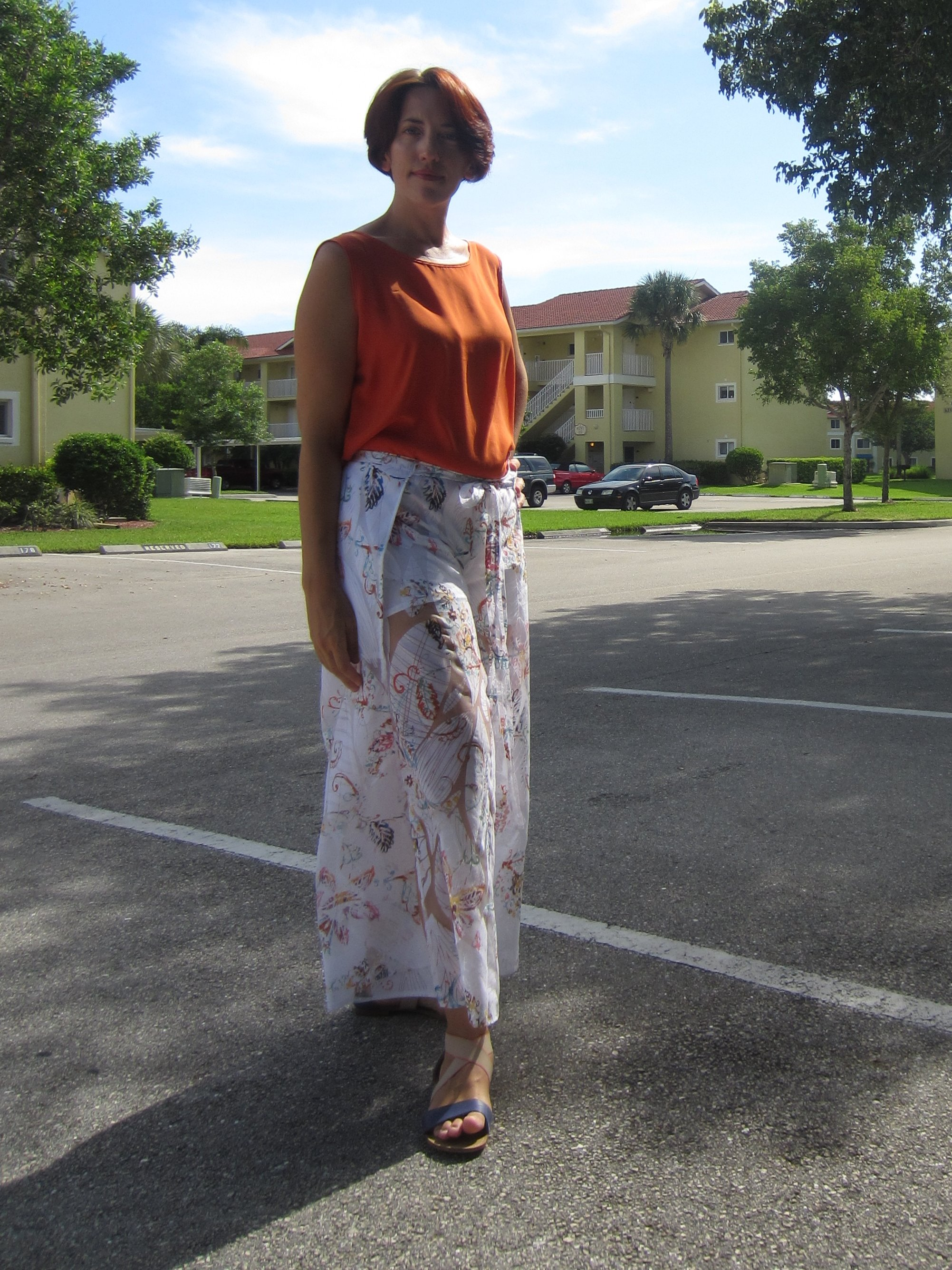 Sheer Summer Wrap Pants #oonapalooza