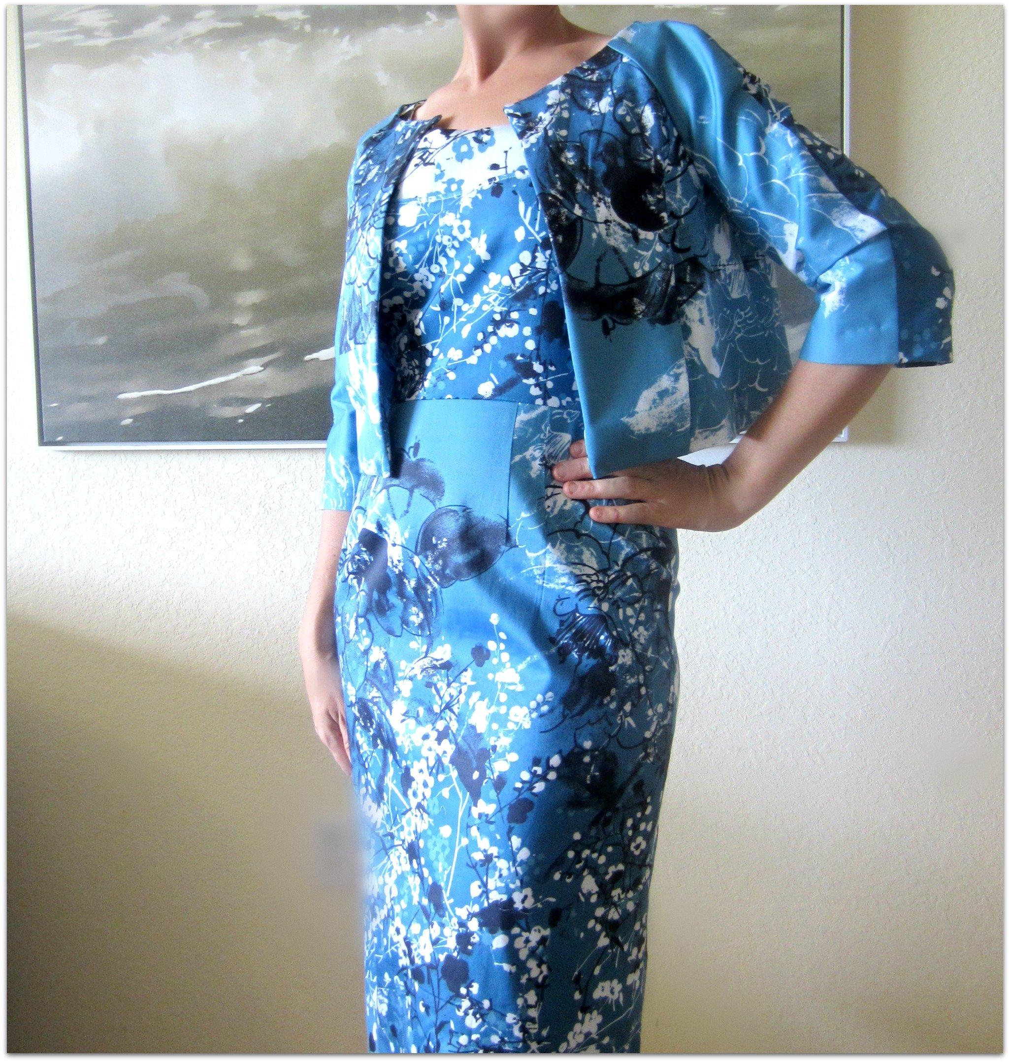 Vintage Vogue Blooming Dress