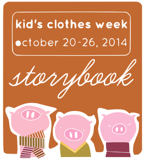 kids clothes week storybook, sew pomona