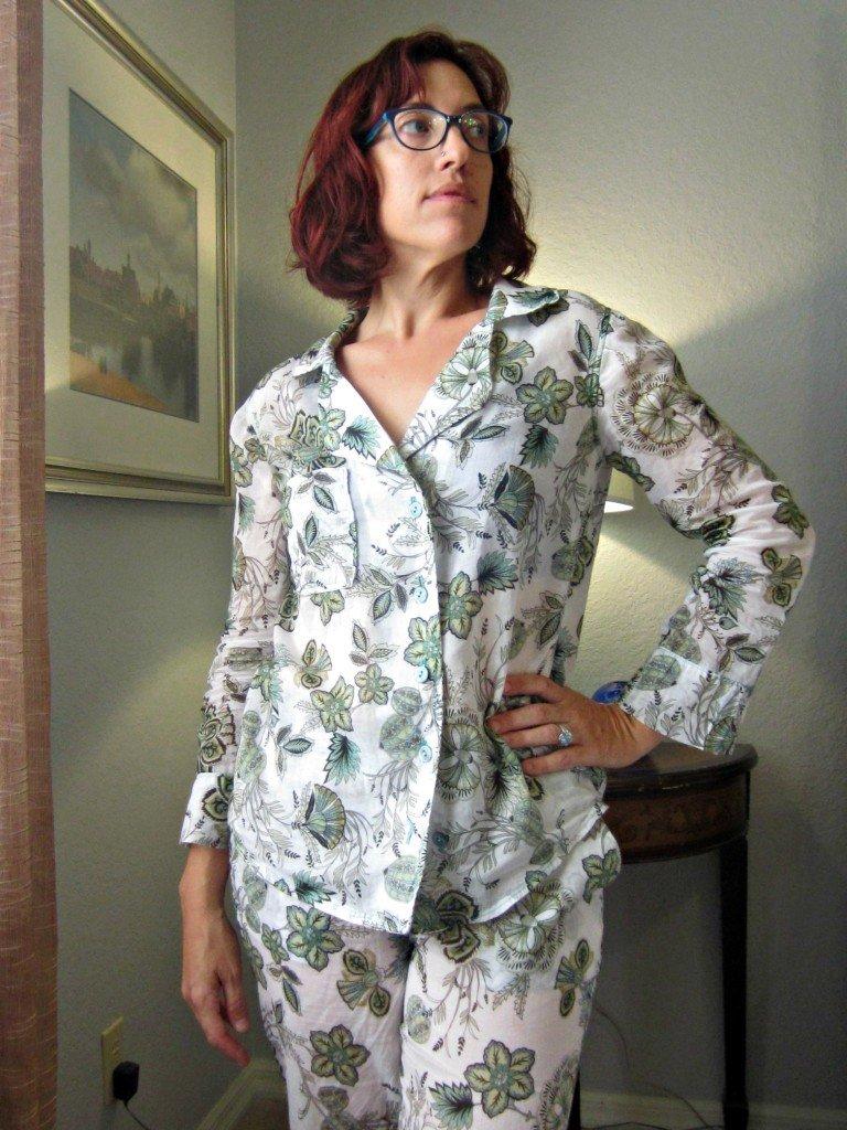 Floral Carolyn Pajamas, Sew Pomona