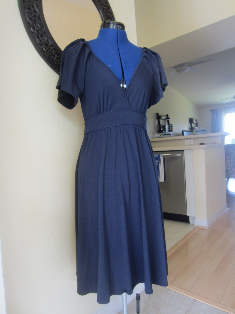 Original Dress, BCBG, before refashion