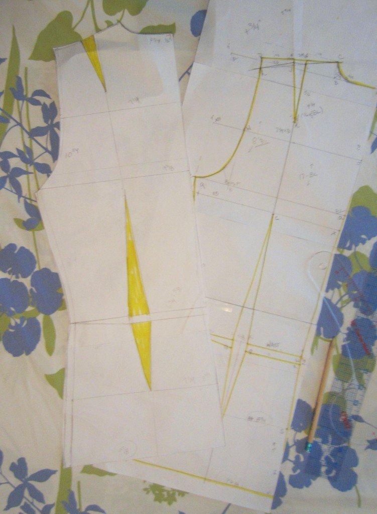 Sew Pomona, work in Progress-Moulage and Sloper