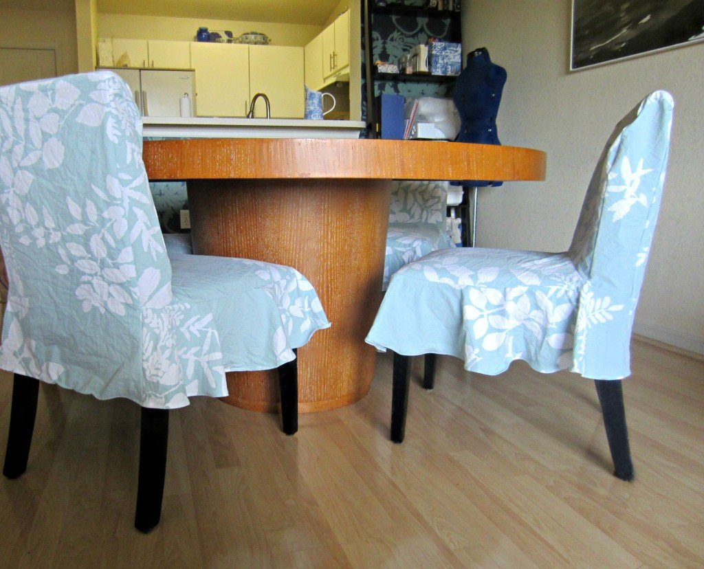 Sprintime Parson Chair Covers, Sew Pomona