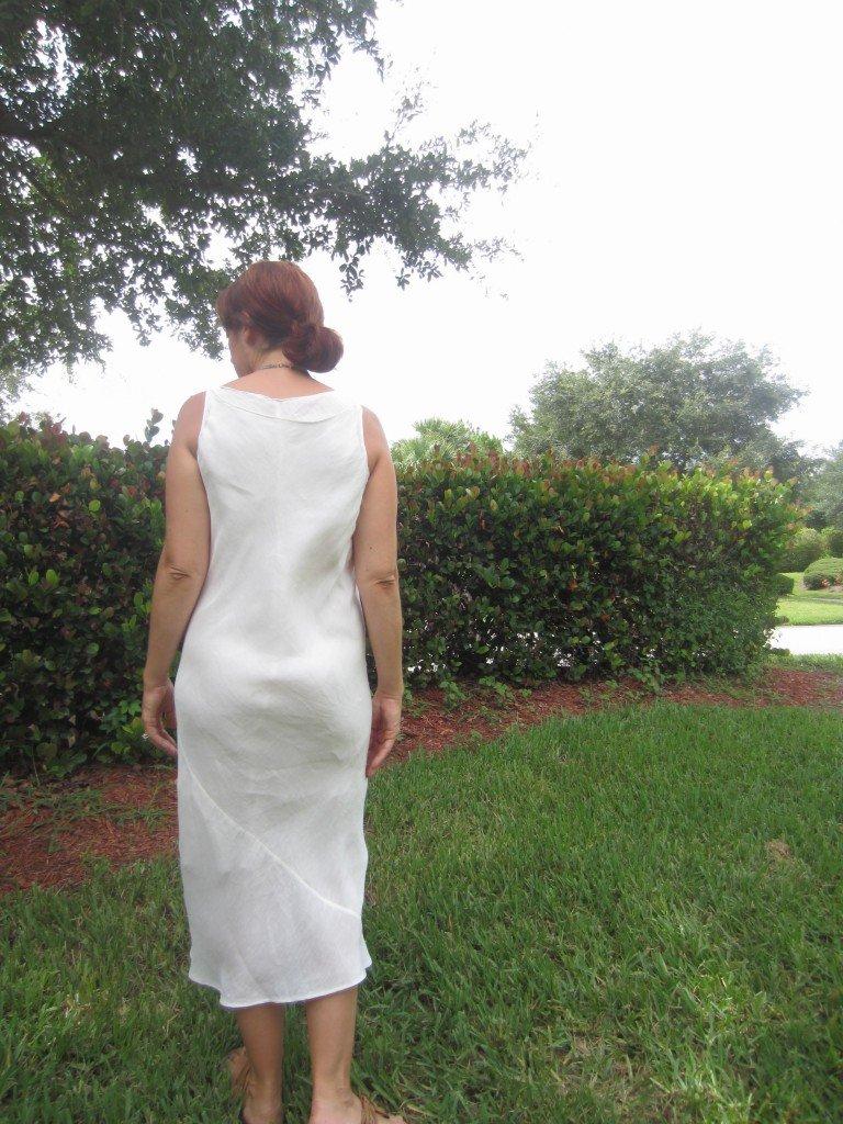 Hemp/Silk Bias Cut Layered Dresses, Sew Pomona