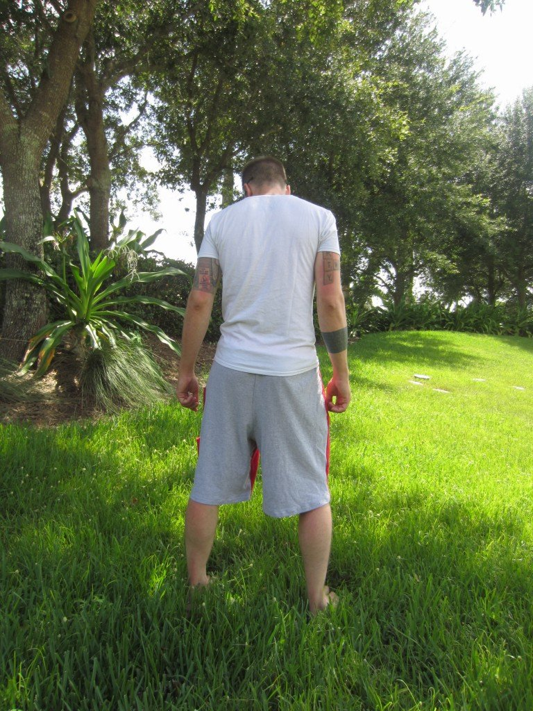 Refashioned Tee Shorts