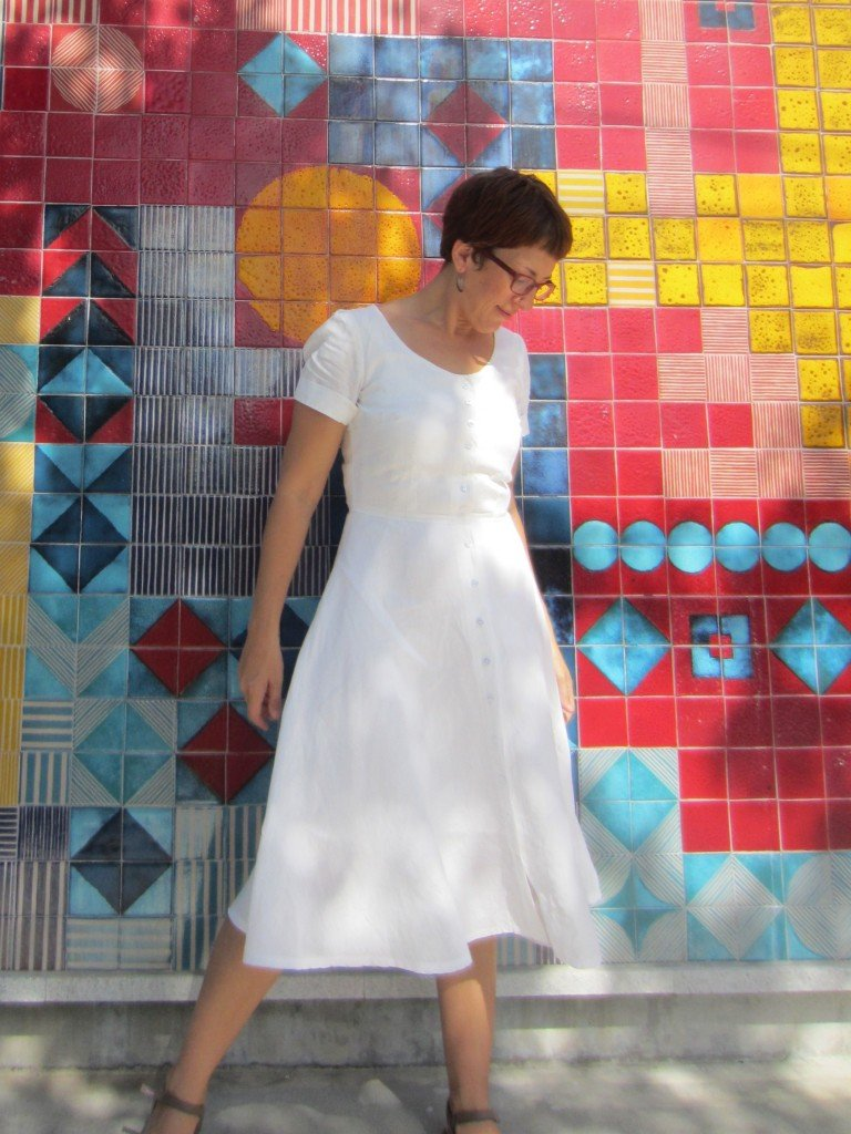 Holly Hawthorn Dress,By Hand London, Colette Patterns, by Sew Pomona