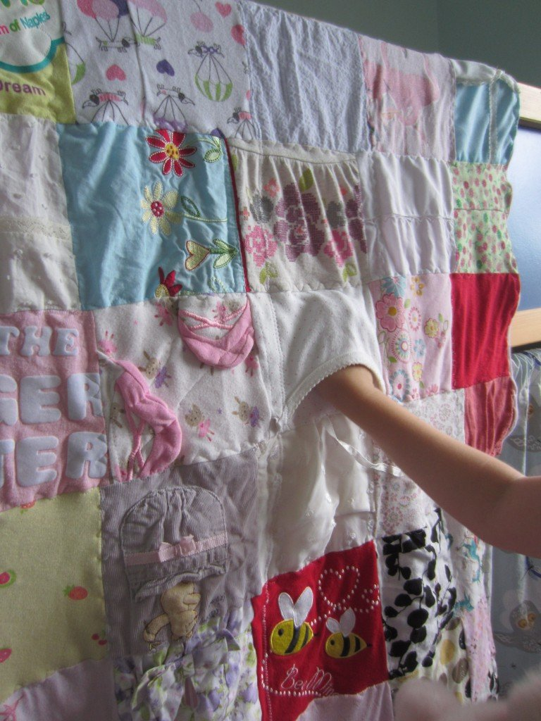 Baby Clothes Memory Quilt and PJ's for Ami, Sew Pomona
