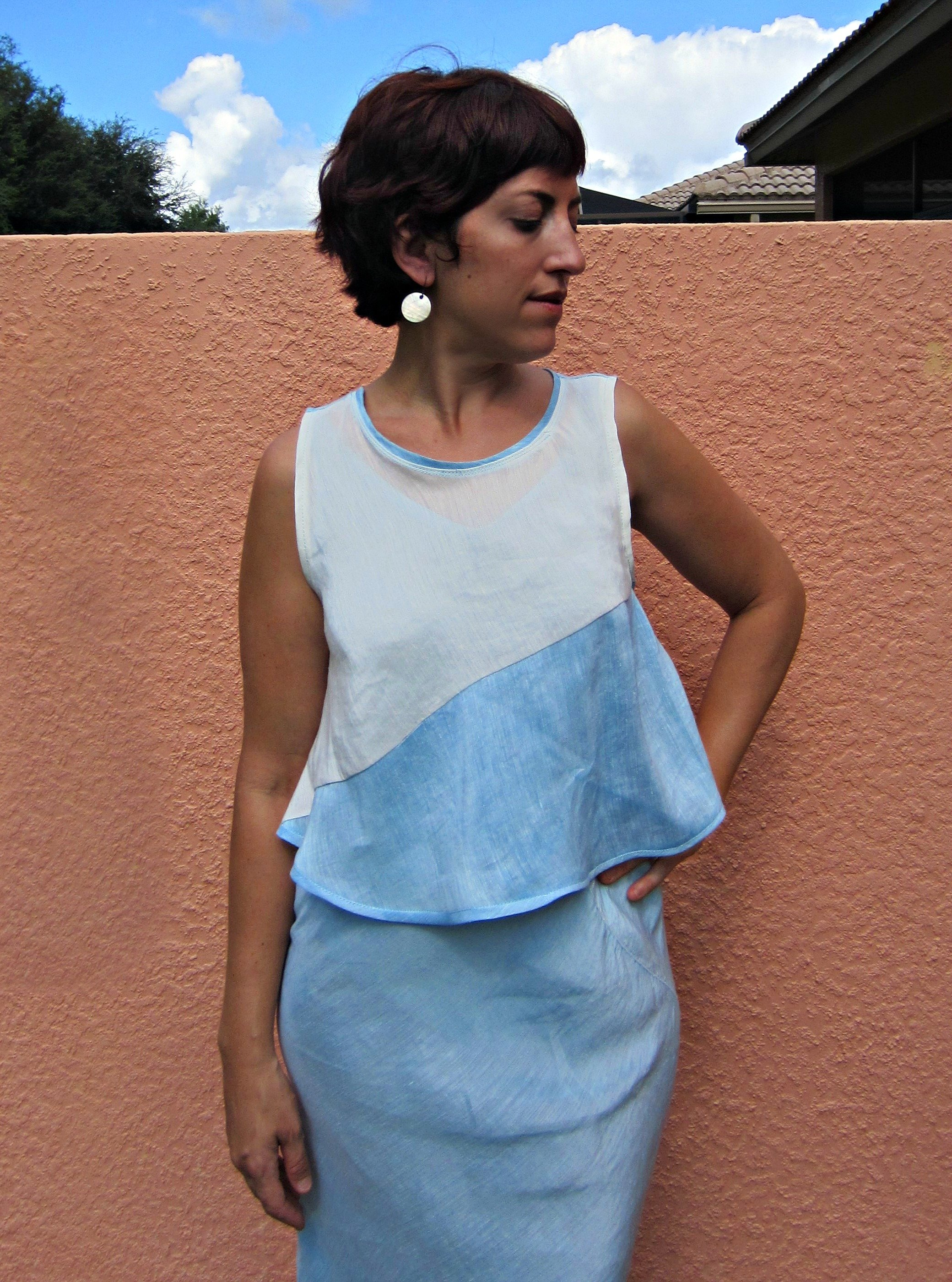 Hemp Silk Swing Tank + Slow Fashion October:Worn