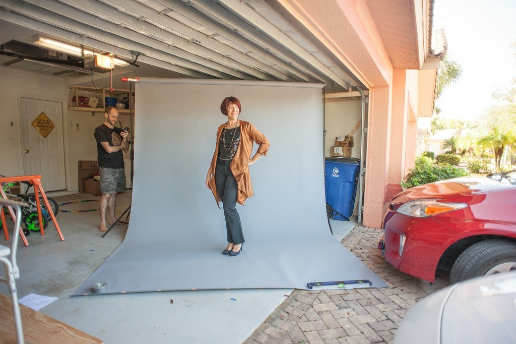 behind the scenes: Donna Karan Vogue Patterns V1384 in Autumn Hemp Silk from Organic Cottons Plus, Photography courtesy of Megan DiPiero Photography, Sew Pomona Blog