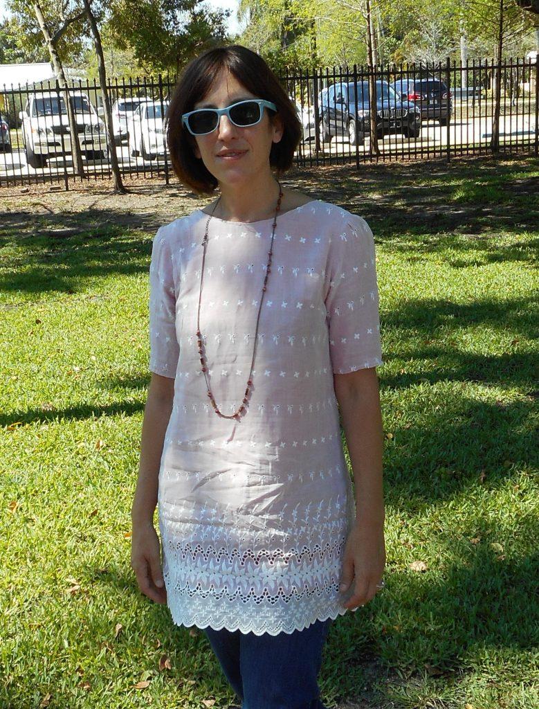 Lovely Laurel-Vintage Prom Dress Refashion