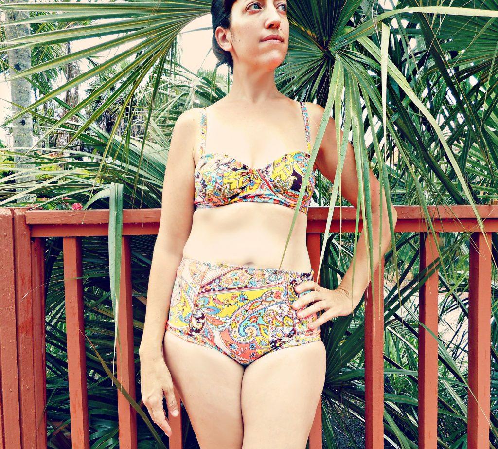 Sophie Swimsuit Sew Pomona 7