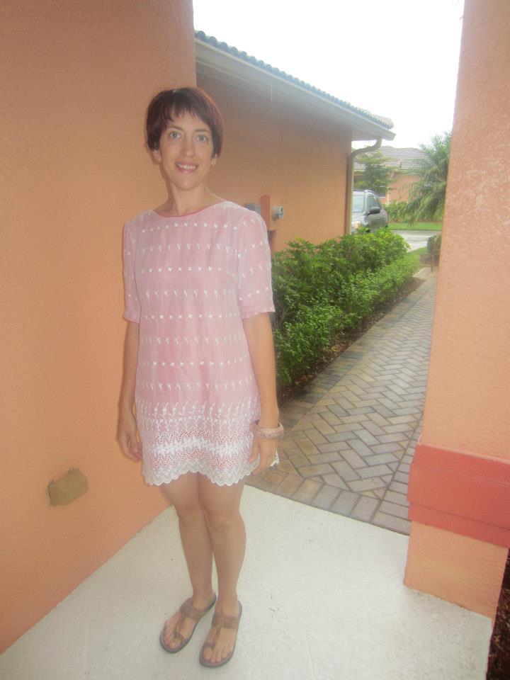 Lovely Laurel-Vintage Prom Dress Refashion. Laurel Refashion After Shots 2013, Sew Pomona