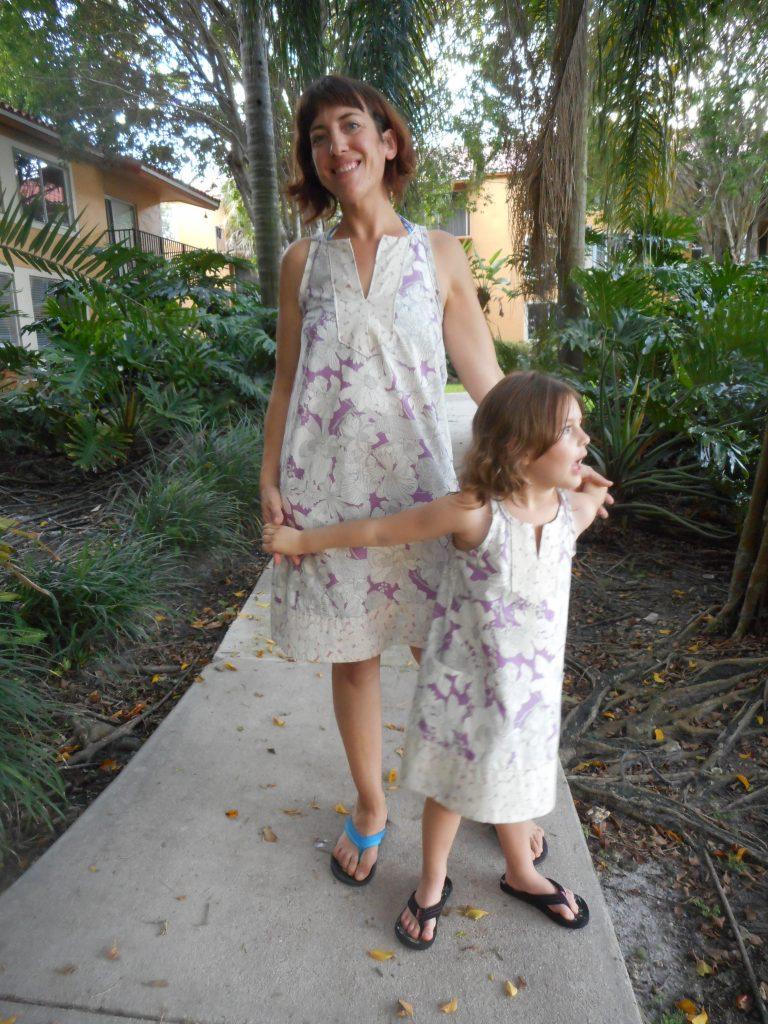 Mommy and Me True Bias Colfax Dresses', Sew Pomona