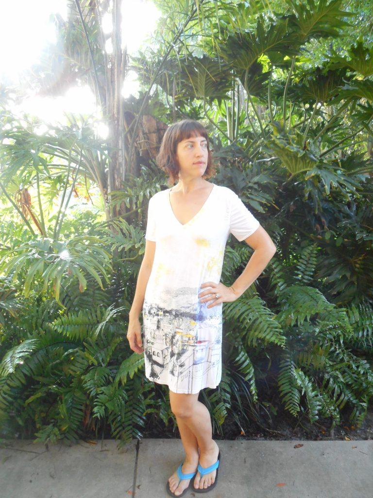 Pacific Grove V Neck Dress