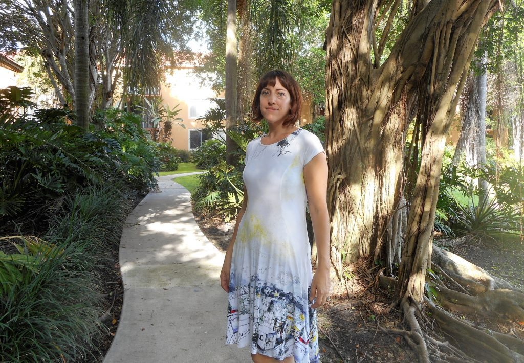 Pacific Grove Very Easy Vogue V881 Princess Seam Dress Sew Pomona
