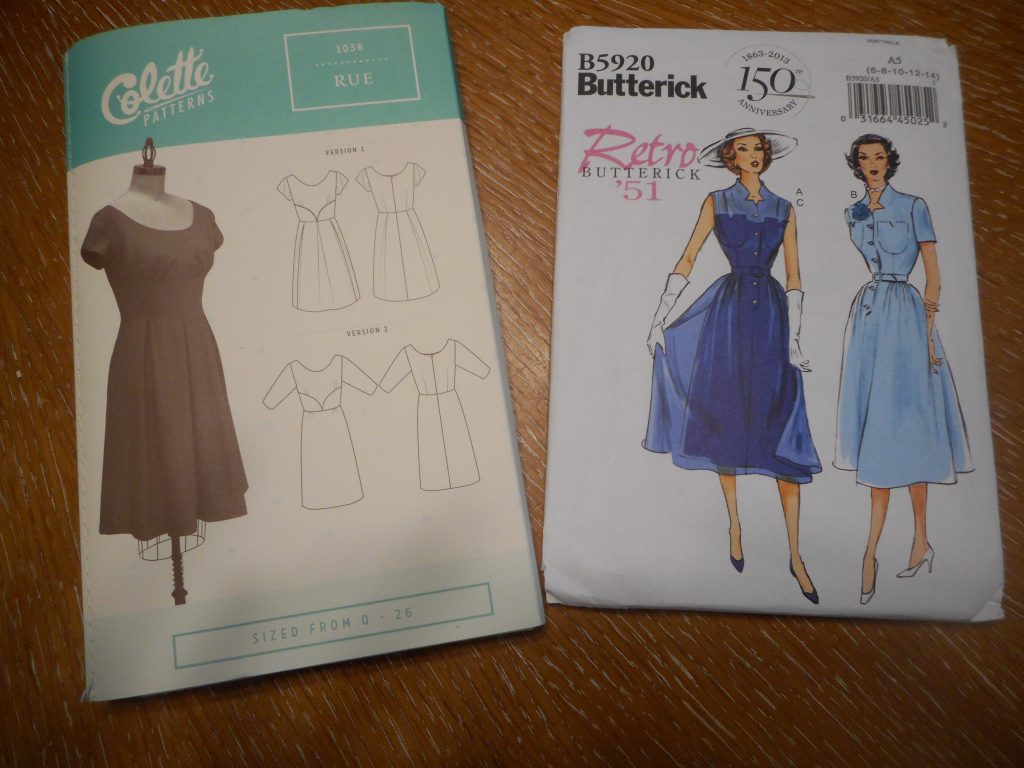 Fall 2016 Sewing Plans-Patterns