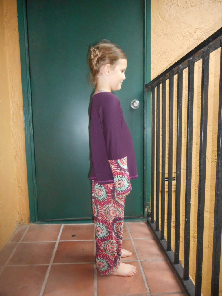 Refashioned PJ's for Ami, McCalls M5965