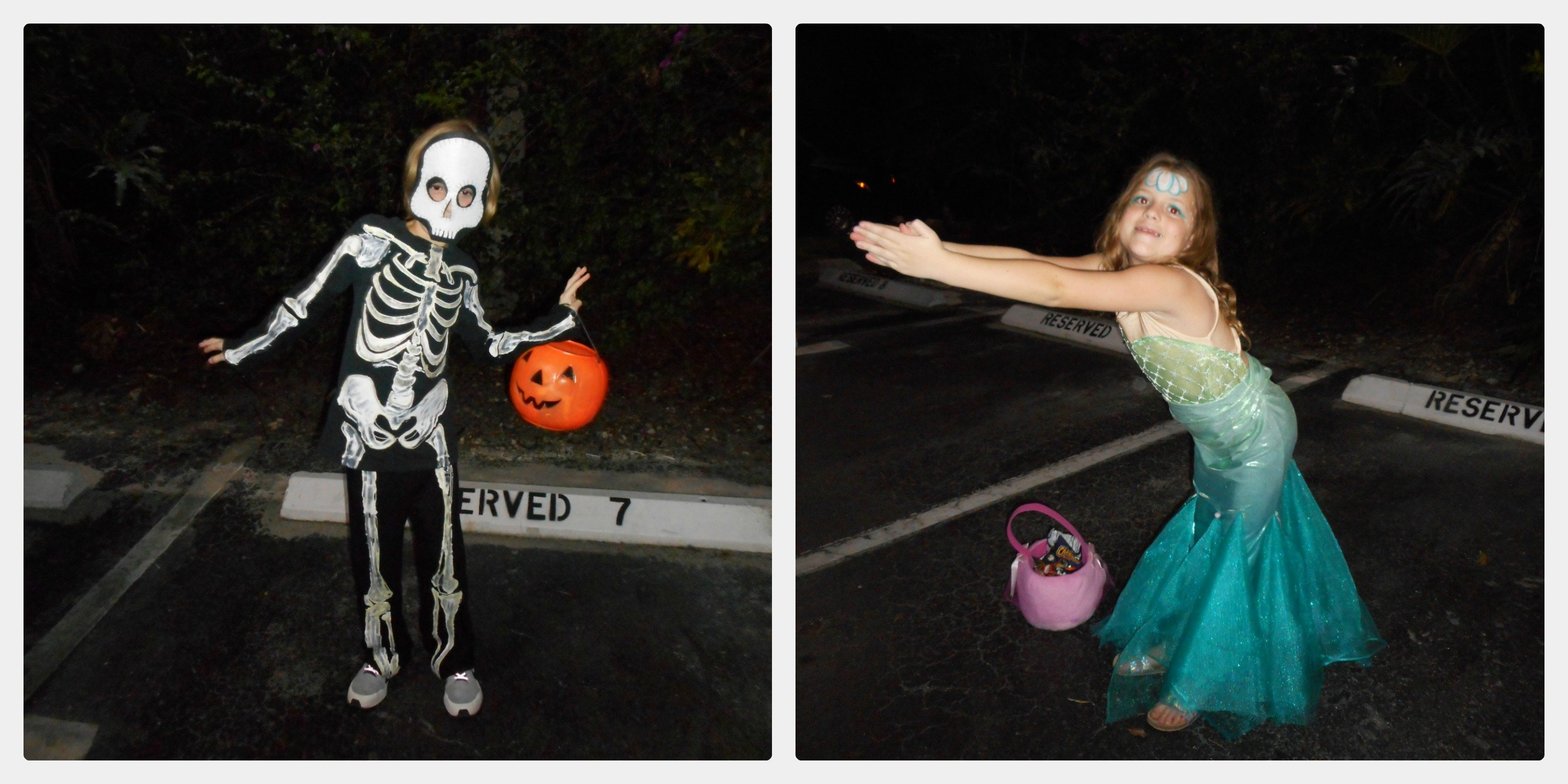 Halloween 2017- Greek Gods, Mermaids and Skeletons!
