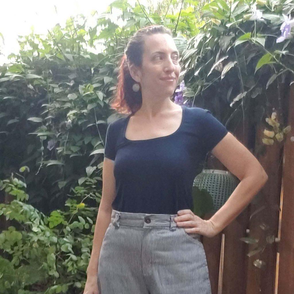 Railroad Denim Self Drafted Trousers